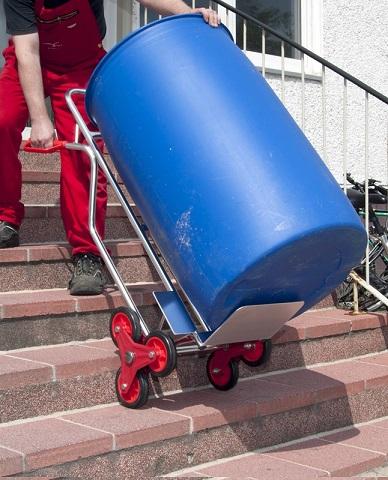 Pro Bau Tec Alu auf der Treppe