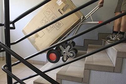 Variofit bei der Arbeit auf der Treppe