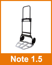 Pro Bau Tec 10004 Sackkarre klappbar Note 1.5